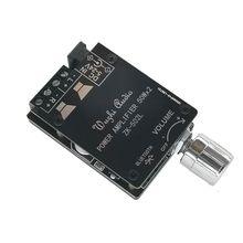 ZK 502L 미니 5.0 블루투스 앰프 보드 무선 오디오 디지털 전원 2x50W 듀얼 채널 스테레오 Amplificador 95AD
