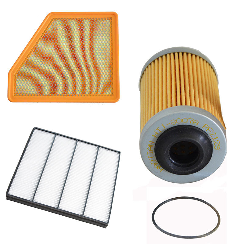 Auto Engine Air Filter Cabin Filter Oil Filter for Chevrolet Camaro 3.6L 2009- 92796275 92234714 25177917    Car Accessories