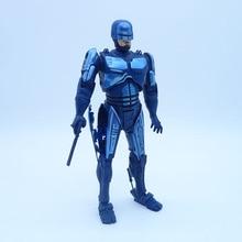 Аниме масштаб 1/8 разрисованная фигурка RoboCop вариант экшн фигурка 1987 фильм ограниченный синий Ver. Игрушечные фигурки RoboCop из ПВХ, игрушки, 17 см