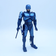 Anime 1/8 Scale Painted Figure RoboCop Variant Action Figure 1987 Film Limited Blue Ver. RoboCop PVC figure Toy Brinquedos 17CM