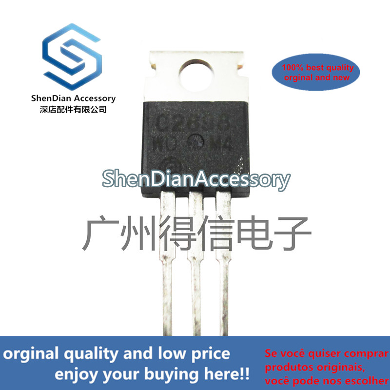 10pcs 100% New And Orginal 2SC2898 C2898 TO-220 Power Bipolar Transistors   In Stock