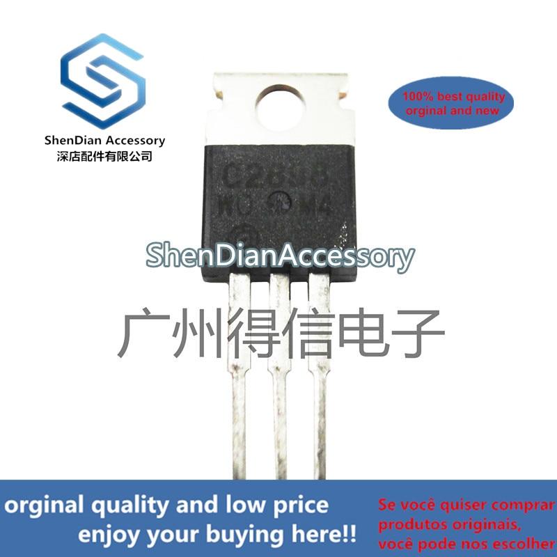 10pcs 100% New And Orginal 2SC2898 C2898 TO-220 Power Bipolar Transistors   In Stock