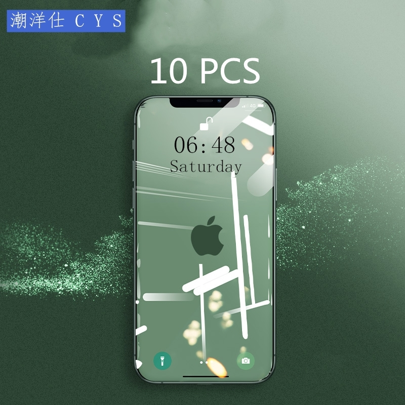 Tempered Glass For IPhone X XR XS 11 PRO Max 8 6 6SPlus 5 5S SE Screen Protector Protective Phone Film FOR Iphone 7 Plus Glass 4