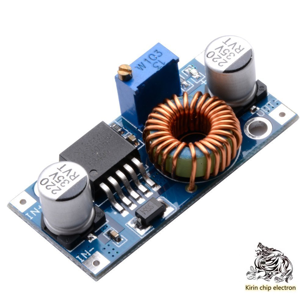 5 PCS/LOT5ADCDC Adjustable Buck Power Module High Power XL4005 High Efficiency Steady Voltage Far Above LM2596