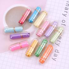 50 шт мини прозрачные таблетки желаний любовь пустые капсулы для сообщений конверт для бумажного письма Студенческая бумага для письма