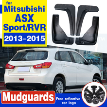 For Mitsubishi ASX 2013-2015 Outlander Sport / RVR 2013 2014 2015 Set Car Mud Flap Flaps Mudflaps Splash Guards Mudguards Fender
