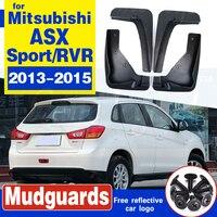 Mitsubishi ASX 2013-2015 Outlander Sport / RVR 2013 2014 2015 Set 자동차 머드 플랩 플랩 머드 플랩 스플래쉬 가드 머드 가드 펜더