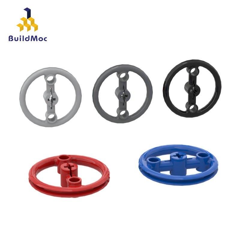 BuildMOC Compatible Assembles Particles 3736 Technology Circle Building Blocks Parts DIY LOGO Educational Creatives Gift Toys