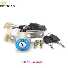 EDLSCAN ствол зажигания переключатель 4837683 для Eurocargo Eurotech руль замок зажигания 4837683