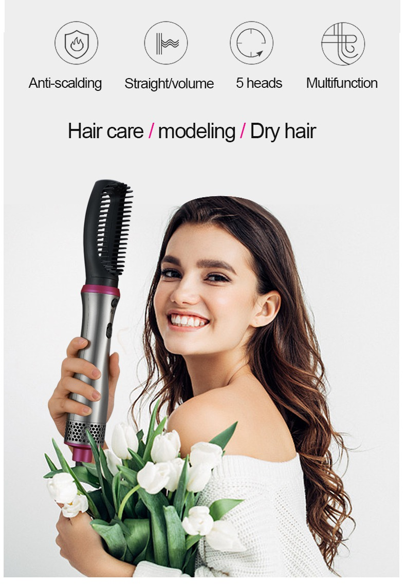 5 em 1 multifuncional secador de cabelo