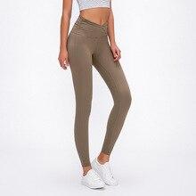 Profession Yoga Leggings Tight Compression Waist Cross Women Yoga Pants Fitness Leggings Sports Leggings For Gym Yoga Leggings