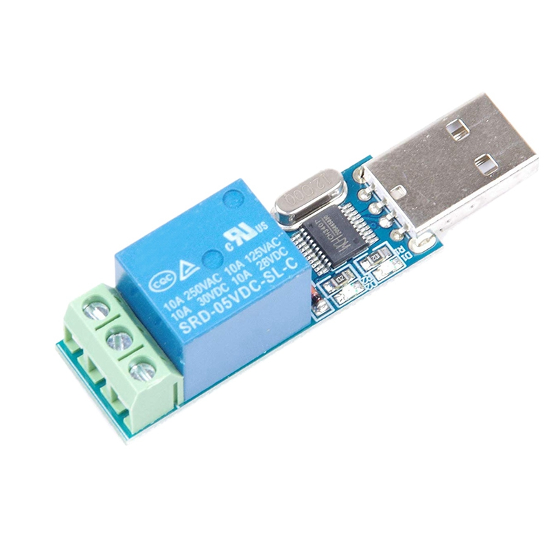 USB Relay Module USB Intelligent Control Switch USB Switch For LCUS-1 Type Electronic Converter