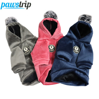 Soft Fleece Dog Coat Winter Pet Sweater Clothes For Dogs Cat Winter Dog Sweatshirt Chihuahua Dog Hooded Coat Warm Puppy Clothing dog hoodies soft fleece winter warm fashion cat clothes pet dog clothes for small dogs clothing winter puppy chihuahua clothes