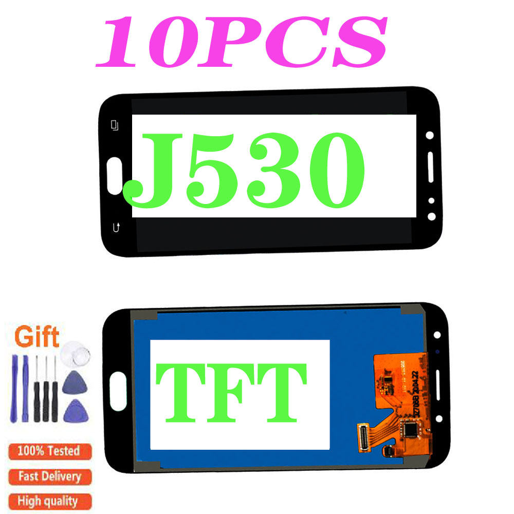 10PCSLCD For <font><b>SAMSUNG</b></font> <font><b>GALAXY</b></font> <font><b>j5</b></font> <font><b>2017</b></font> J530 J530F SM-J530F LCD <font><b>Display</b></font> Touch Screen Digitizer For <font><b>Samsung</b></font> <font><b>J5</b></font> Pro Adjustable <font><b>Display</b></font> image