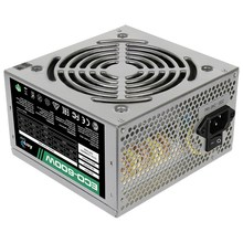 Блок питания AeroCool ECO-600/ 600W/ ATX/ 20+4 pin/ 120mm fan/ 4xSATA