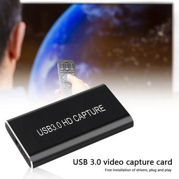 New USB 3.0 Video Capture HDMI to USB Type C 1080P HD Video Capture Card for TV PS4 PC Game Live Streaming for Windows OS X