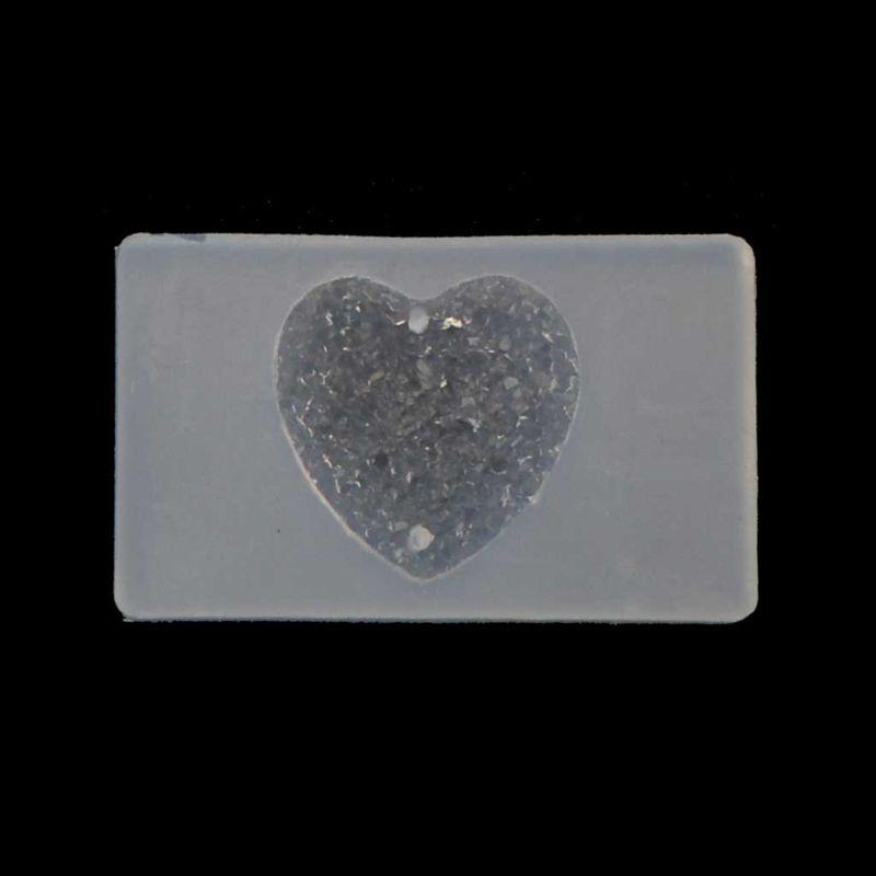 Handmade Sqaure Heart Teardrop Gemstone Pendant Resin Silicone Mold Jewelry Tool in Jewelry Tools Equipments from Jewelry Accessories