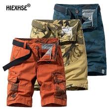 2021 Summer Cotton Shorts Men's Casual Outdoor Shorts Camouflage Breathable Bermuda Shorts Men's Beach Pants Military Uniform