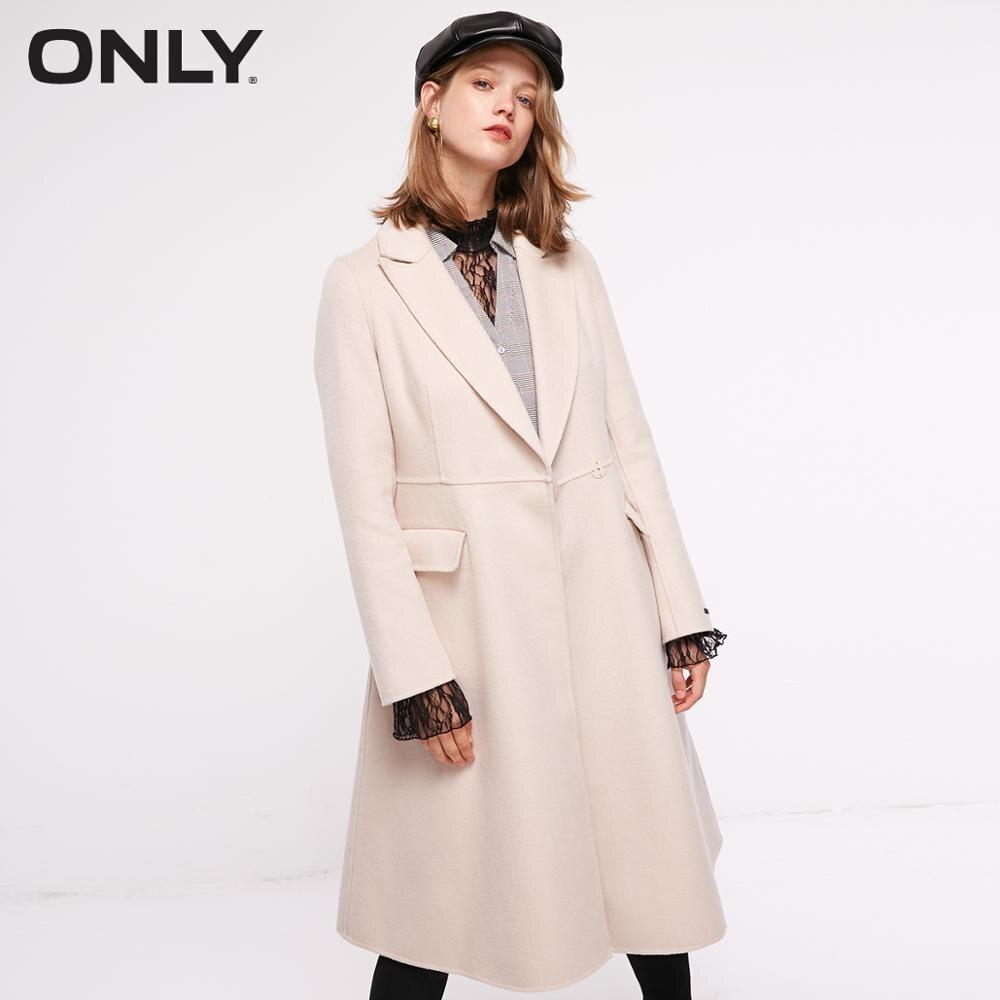 ONLY  Autum Winter New Arrivals Mid-length Woolen Coat   11834S510