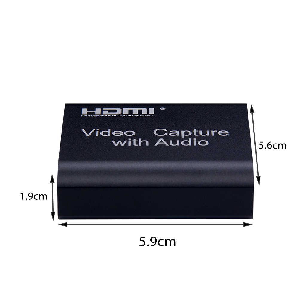 1080P 4K HDMI 비디오 장치 HDMI To USB 2.0 비디오 카드 동글 레코드 라이브 스트리밍 방송 루프 출력