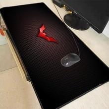 Mairuige Batman Logo Large Mouse Pad Notebook Computer Gaming Mats Practical Office Desk Resting Surface