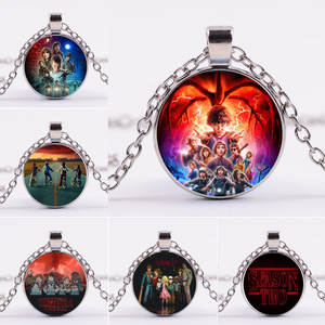 Anime Toys Stranger Things Figure Eleven Dustin Demogorgon Figurine Necklace Toys For