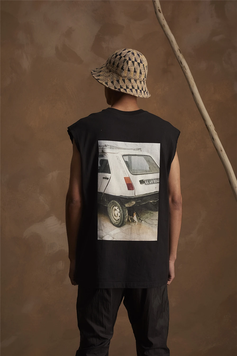 Sleeveless SONG FOR THE MUTE T Shirt Men Women 1:1 Top Version Oversized Tops Tees SONG FOR THE MUTE T-Shirt Kanye West image