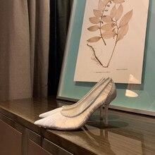 2020 High Heels Zapatos De Mujer Wedding Shoes Woman Breatha