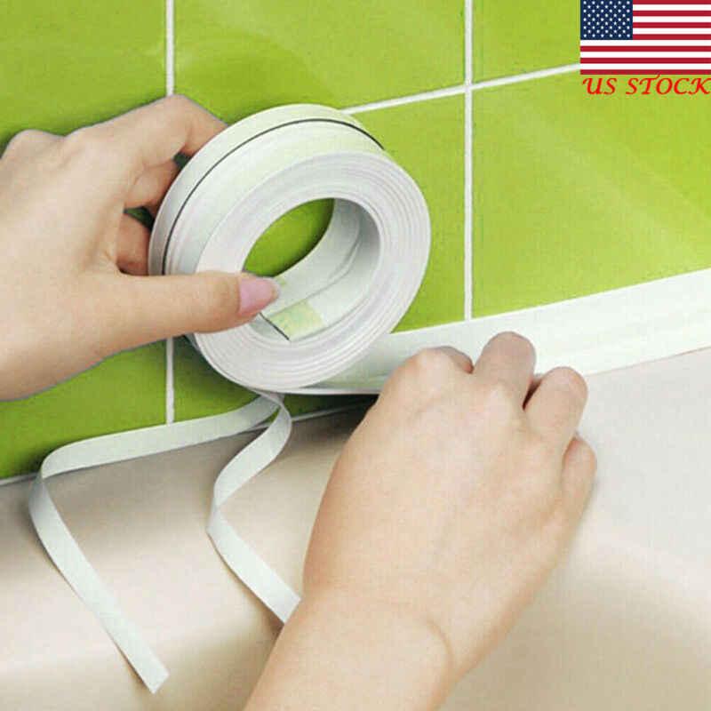 3.2M אמבטיה קיר איטום רצועת דביק קלטת מטבח קולק תיקון קלטת אמבטיה מטבח עמיד למים טחב הוכחת קלטת