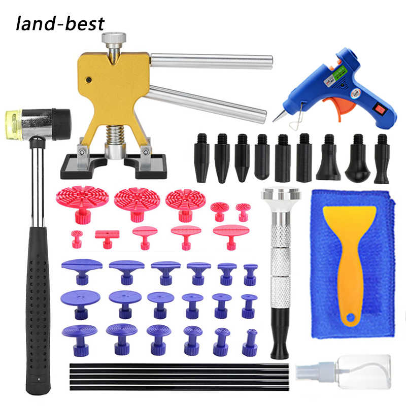 Car SUV Paintless Dent Pit Repair Tools Glue Pulling Removal Body Slide Hammer