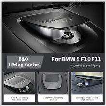 Center Dashboard Lifting Speakers For BMW F10 F11 5 Series Original BO Horn Audio Luminous Cover Loudspeaker Upgrade Music Kit