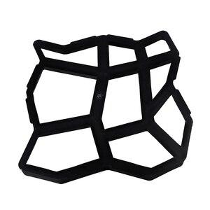Форма для мощения, многоразовая форма для создания бетонной дорожки, формы для укладки, самодельные формы для тротуарной плитки для газона, патио, двора, сада Формы для уличной плитки      АлиЭкспресс