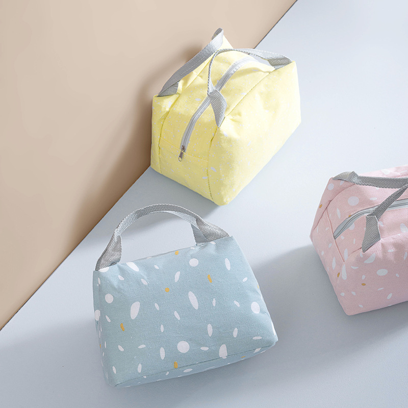 Cooler Bag Practical Small Portable Ice Bags Portable Food Bag Aluminum Foil Thermal Box  Ice Pack Lunch Box Food Thermal Bag