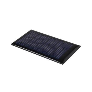 0.15W 5V Mini Solar Cell Polycrystalline Solar Panel Module DIY Solar Charger 53*30*3MM 100pcs Wholesale Free Shipping