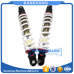 Image 3 - 2PCS REAR SHOCK ABSORBER WITH AIR BAG SUIT for cfmoto cf800 2(x8)part no.7020 061600 30000