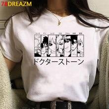Nouveau japonais Anime Dr.STONE T-shirt hommes Kawaii drôle Harajuku Dorohedoro t-shirts graphiques dessin animé Manga T-shirt unisexe T-shirt mâle