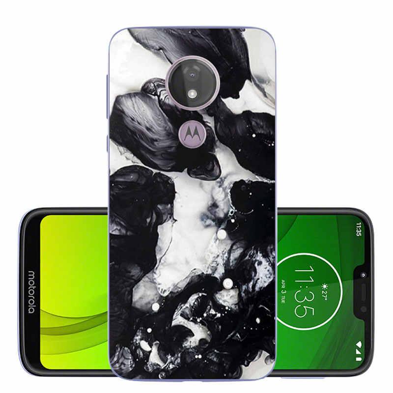 """シリコン携帯電話ケースモト G7 スープラ XT1955 シェルモト G7 電源超薄型ソフト Tpu 6.2"""" 保護 Funda"""