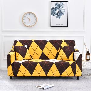 Sofa-Covers Lounge Elastic Living-Room L-Shaped Stretchable for Tightly Geometric
