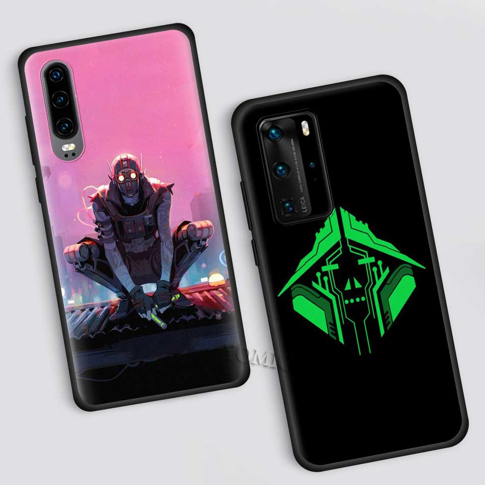Apex Legends Fitted Case For Huawei P40 Lite E P30 P20 Pro P10 P Smart Z Plus 2019 Black Soft Silicone Cell Phone Cover Shell