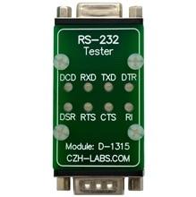 CZH LABS RS232 LED リンクテスターモジュール、 DB9 オス DB9 女性。