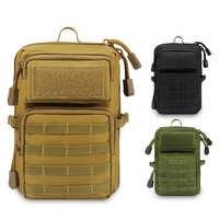 Sacchetto di Spalla tattico Militare Molle Zaino 600D Telefono Esterno Del Sacchetto EDC Utility Pack di Accessori Caccia Escursionismo
