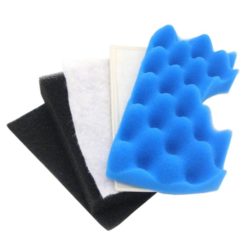 1Set/5pcs Vacuum Cleaner Parts Dust Motor Filters Hepa For Samsung MICRO FILTER CLEANER DJ63-00669A SC43 - 47 SC43 SC47 Ser