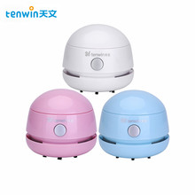 Tenwin Mini Portable Vacuum-Cleaner round desktop Office home for novel-design and easy to use high quality school office supply
