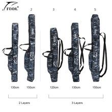 FDDL Portable  Fishing Bags  2/3 Layer Folding Fishing Rod R