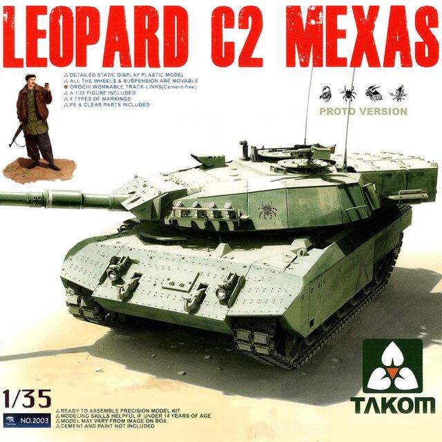 Takom TAK2003 1/35 Kanadischen MBT Leopard C2 Mexas