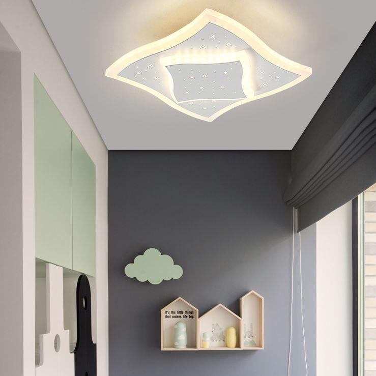 moderno contratado lampada corredor absorve cupula 04