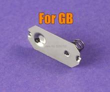10 pçs mola de bateria de alta qualidade para gameboy clássico gbo terminais de bateria molas contatos para dmg gb suporte da bateria