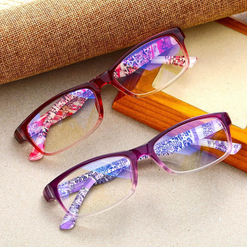 1Pc 2021 Women Resin Reading Glasses Anti blue Light Presbyopic Radiation Protection Portable Ultralight Eyewear Vision Care HOT