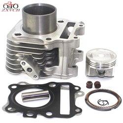 Motorrad Zylinder Kit für Suzuki Haojue VECSTAR 125 EINE 125 HS 125 T AN125 HS125 T HS125T Kolben kit teil