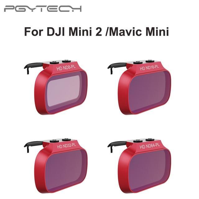 PGYTECH Ống Kính Lọc UV ND 8 16 32 64 Cho DJI Mini 2 Bộ Lọc Cho DJI Mavic Mini ND8 ND16 ND32 ND64